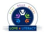 Love 4 Literacy Logo